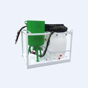 Sabbiatrice senza polvere SSP 200